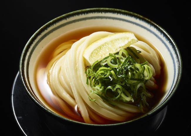 うどんのコシと出汁をダイレクトに味わう「ぶっかけ冷」¥630