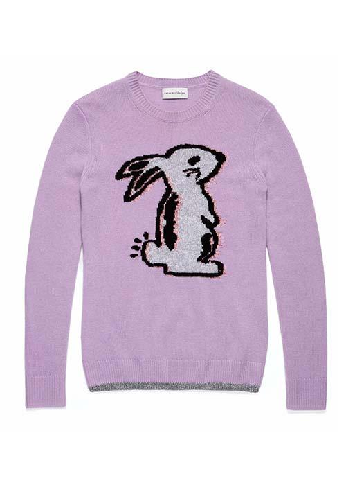 バニー インターシャ セーター ¥34,000