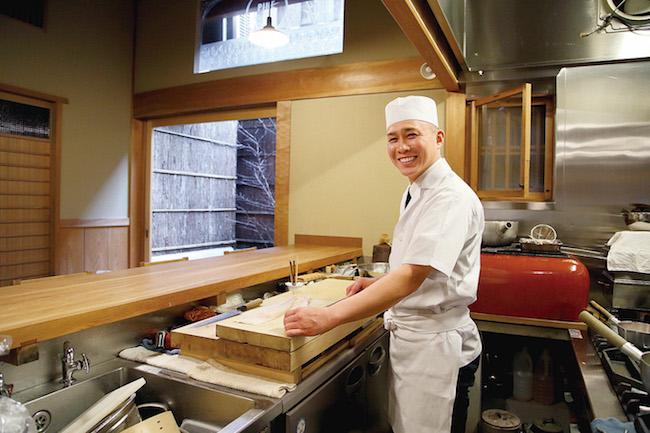 京都「なる屋」上嶋良太シェフ