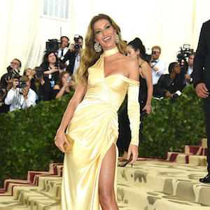 Gisele Bundchen at the Costume Institute Benefit at the Metropolitin Museum of Art at the opening of 'Heavenly Bodies: Fashion and the Catholic Imagination'. New York City, New York -  Monday May 7, 2018.