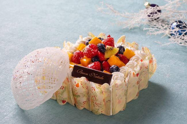 「クリスタル フルーツショートケーキ」(限定100台)店頭・電話予約・当日販売価格 ¥5,500/オンライン予約限定価格 ¥4,950