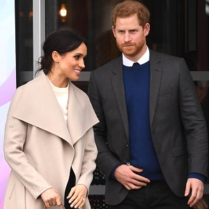 Price Harry and Meghan Markle Visit Belfast