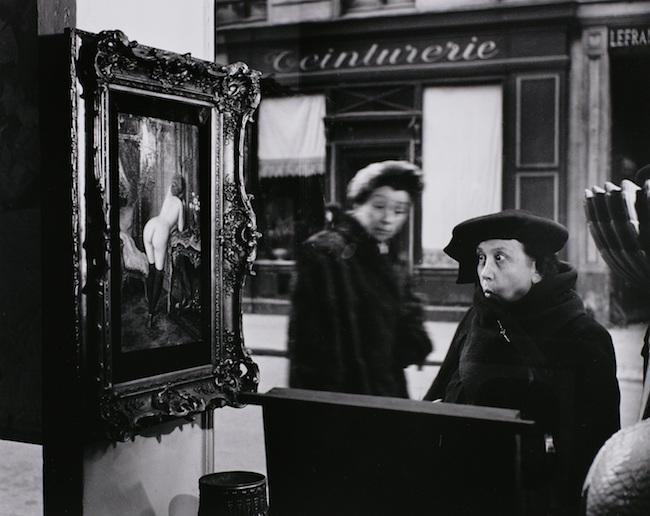 ロベール・ドアノー 〈ヴィトリーヌ、ギャルリー・ロミ、パリ〉より 1948年 ゼラチン・シルバー・プリント ©Atelier Robert Doisneau/Contact