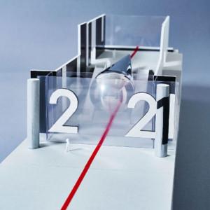 アーティスト・藤元明と建築家・永山祐子によるインスタレーション『2021#Tokyo Scope』の展示模型