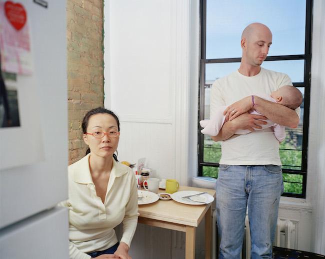 キム・オクソン『ヒロヨとマイケル 2』 「ハッピー・トゥゲザー」(2004年)より ©Oksun KIM