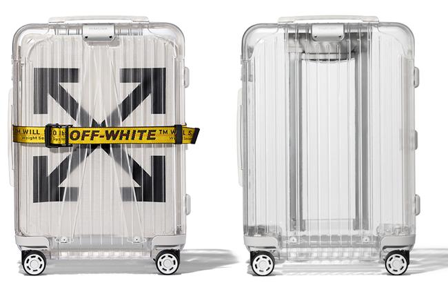 """See Through"" White(H55×W39×D23cm/容量36L) ¥170,000"