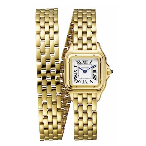 時計(22×30mm、YG)¥3,450,000 Cartier(カルティエ カスタマー サービスセンター 0120-301-757)
