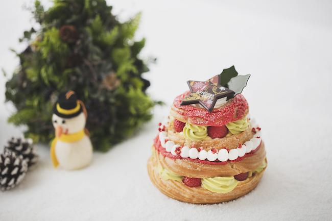 「苺のパリブレスト」¥3,900