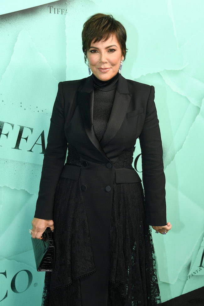 NEW YORK, NY - OCTOBER 09:  Kris Jenner attends Tiffany & Co. Celebrates 2018 Tiffany Blue Book Collection, THE FOUR SEASONS OF TIFFANY at Studio 525 on October 9, 2018 in New York City.  (Photo by Nicholas Hunt/Getty Images for Tiffany & Co.)
