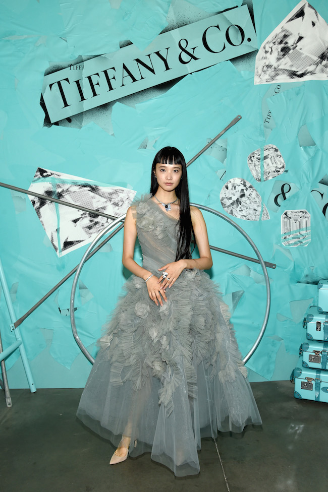 NEW YORK, NY - OCTOBER 09:  Yuka Mannami attends Tiffany & Co. Celebrates 2018 Tiffany Blue Book Collection, THE FOUR SEASONS OF TIFFANY at Studio 525 on October 9, 2018 in New York City.  (Photo by Dimitrios Kambouris/Getty Images for Tiffany & Co.)