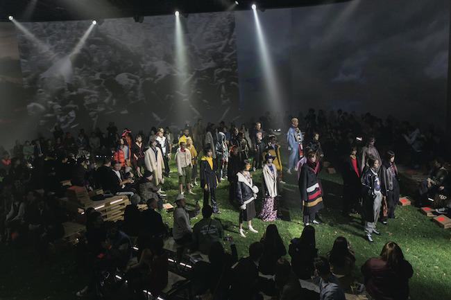 2017年、東京で初のランウェイショーを開催。クリエイティブシェフ集団「Ghetto Gastro」とのコラボ演出も話題に。