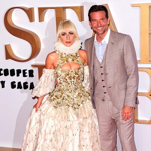 Lady Gaga & Bradley Cooper attending A STAR is BORN - UK Premiere at the VUE West End ll London Thursday 27th September 2018.