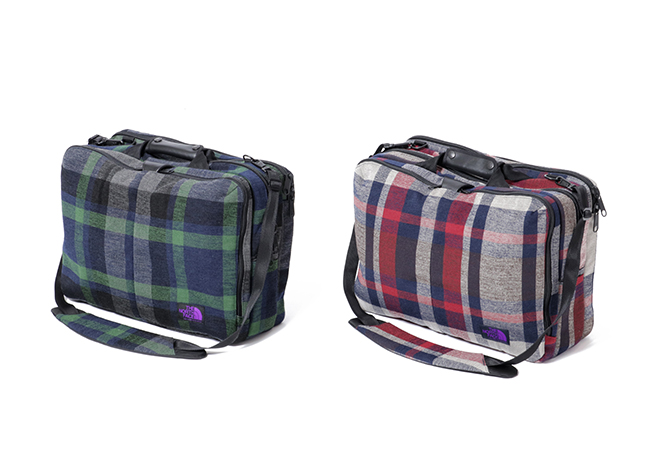 「THE NORTH FACE PURPLE LABEL×Spike Jonze」THE NORTH FACE PURPLE LABEL 3Way Bag ¥35,000 (W44×H32.5×D17cm)