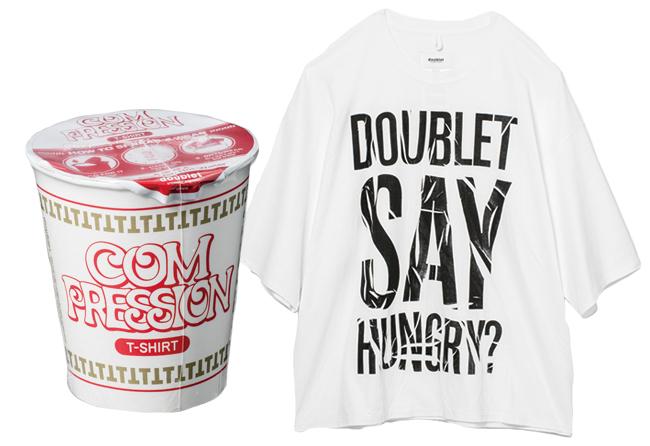 Tシャツ¥16,000/Doublet(スタジオ ファブワーク 03-6438-9575)