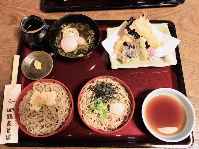 やくばらい蕎麦¥2,500