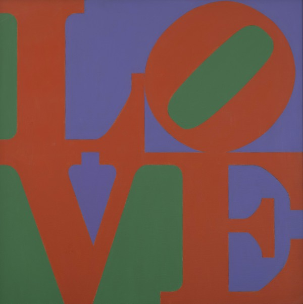 Robert Indiana『Philadelphia LOVE』1972 Private collection All works: © 2018 Morgan Art Foundation Ltd./Artists Rights Society (ARS), NY. Image courtesy of RI Catalogue Raisonné LLC