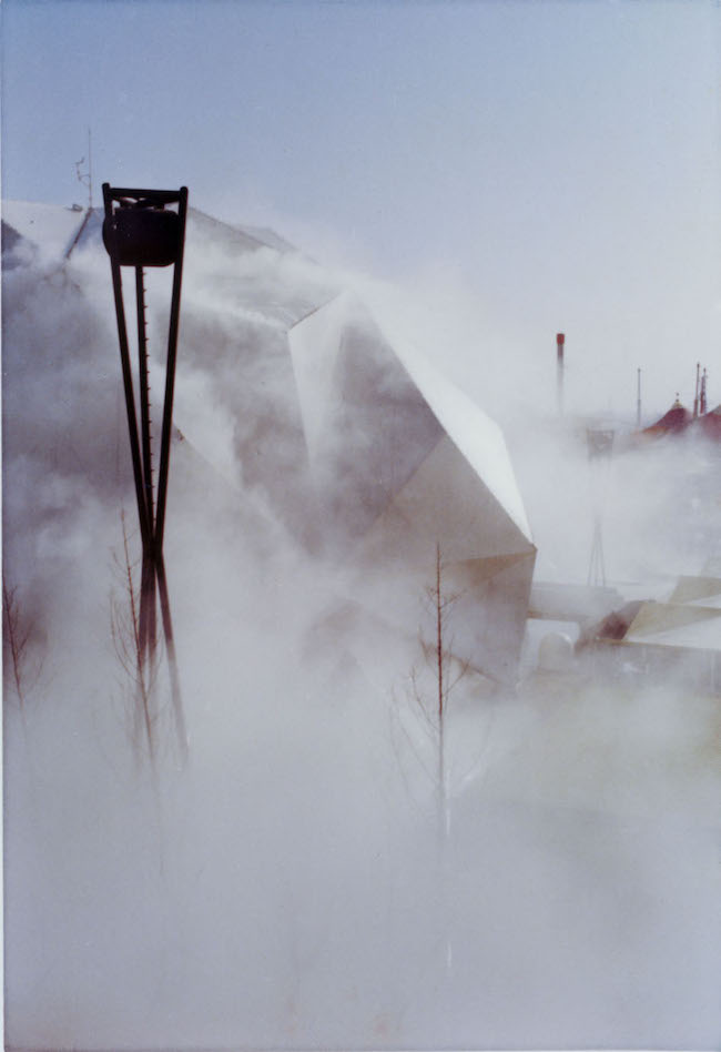 『ペプシ館』 霧の彫刻, #47773, 1970 (参考図版)日本万国博覧会(EXPO 70)会場風景より 撮影:中谷芙二子