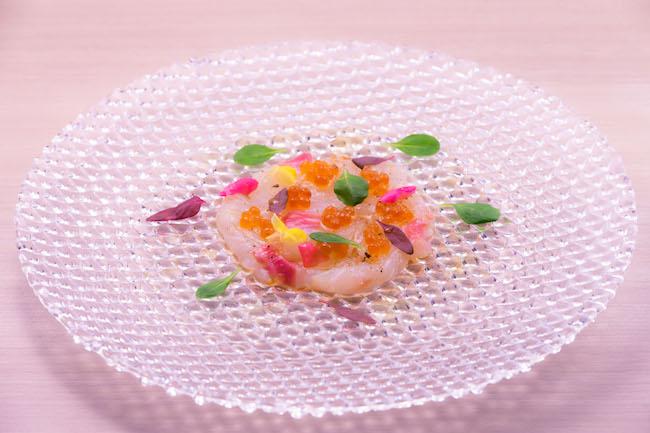 熟成真鯛のカルパッチョ ¥1,600