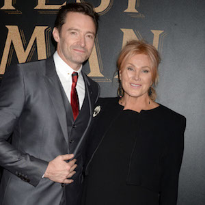 09/12/17 - New York City - World premiere of THE GREATEST SHOWMAN in partnership with CUNARD and SWAROVSKI aboard QUEEN MARY 2. 9 December 2017    Pictured:  Hugh Jackman, Deborra-lee Furness