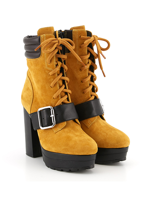 JS Collabo Hell Boots ¥29,800(DARK YELLOW)