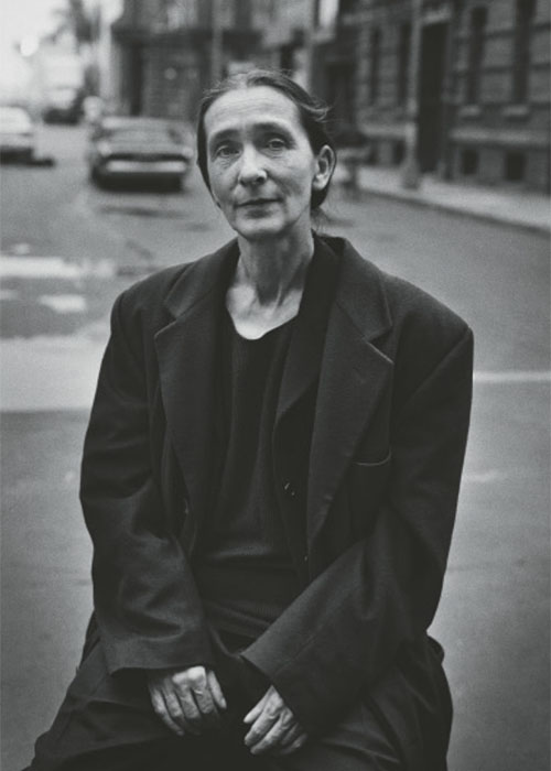 PINA BAUSCH, Pina Bausch,Paramount Studios, Hollywood, 1996 © Peter Lindbergh (Courtesy Peter Lindbergh, Paris)