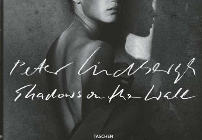 『Peter Lindbergh. Shadows on the Wall』(Taschen)表紙