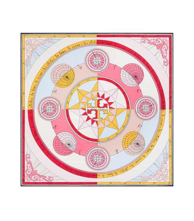 「牡羊座」におすすめのConstellation Silk Square Scarf ¥19,000