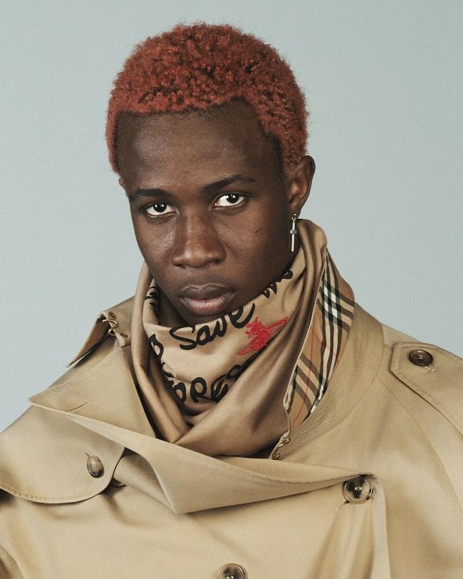 Leonard Emmanuel © Courtesy of Burberry/David Sims
