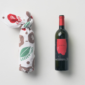手ぬぐいワイン