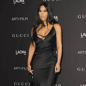 Kim Kardashian West at arrivals for 2018 LACMA Art + Film Gala, Los Angeles County Museum of Art, Los Angeles, CA November 3, 2018. Photo By: Elizabeth Goodenough/Everett Collection