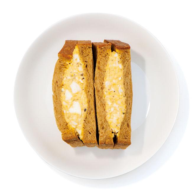 「トリュフの卵サンド」¥537 テイクアウトのみ