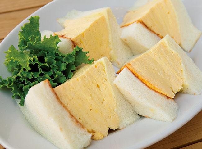 「コロナの玉子サンド」¥850 テイクアウトは数量限定(¥950)