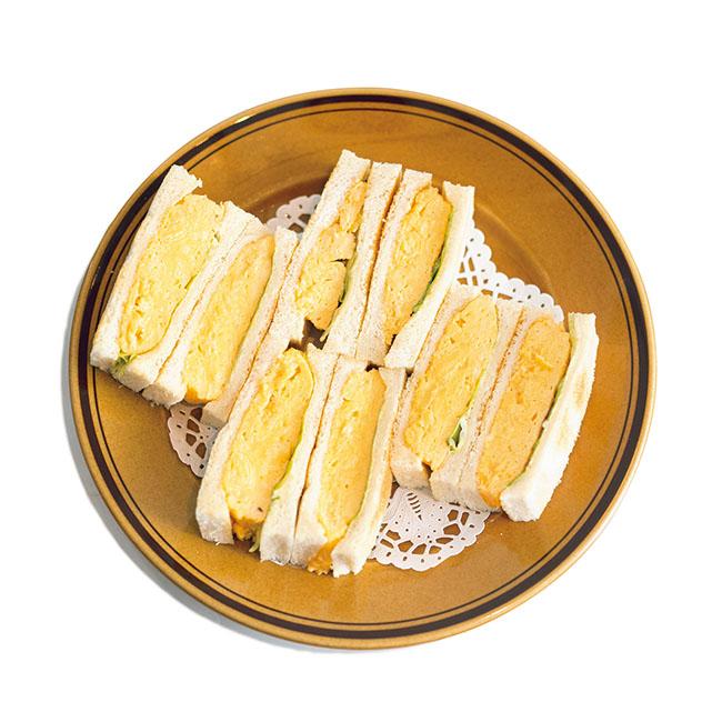 「玉子サンドゥイッチ」¥800(税込) テイクアウト不可