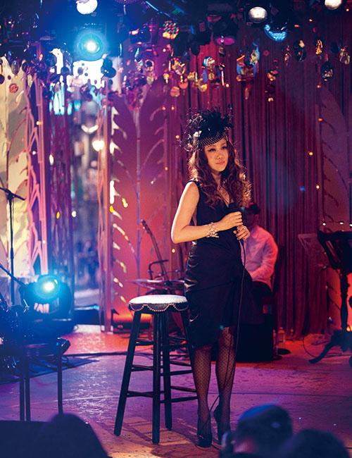 2012年に開催された「MTV UNPLUGGED JUJU」。日本人女性アーティストとして史上初となったNYのMTVスタジオにて収録された。©Mayumi Nashida