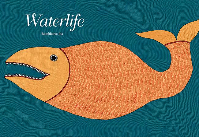 『水の生きもの』初版(2011年)の表紙。