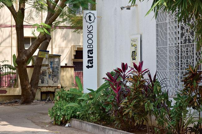 南インドの大都市チェンナイ、郊外に佇むタラブックスの建物。(Photo:松岡宏大)