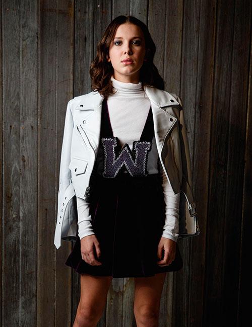 『ストレンジャー・シングス』出演のミリー・ボビー・ブラウンは2004年生まれの14歳。