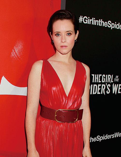 『蜘蛛の巣を払う女』のリスベット役をつかんだクレア・フォイ