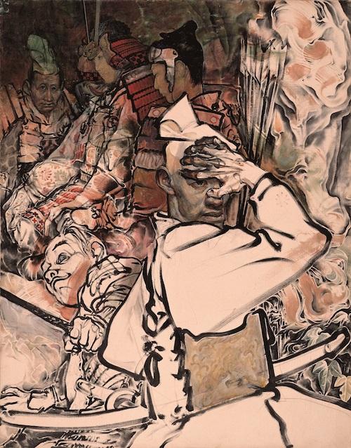 「洞穴の頼朝」(1990) 撮影:長塚秀人 ©YAMAGUCHI Akira, Courtesy of Mizuma Art Gallery