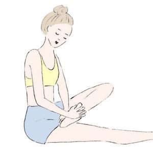 すらりと引き締まった美脚へ!骨盤トレーニング法