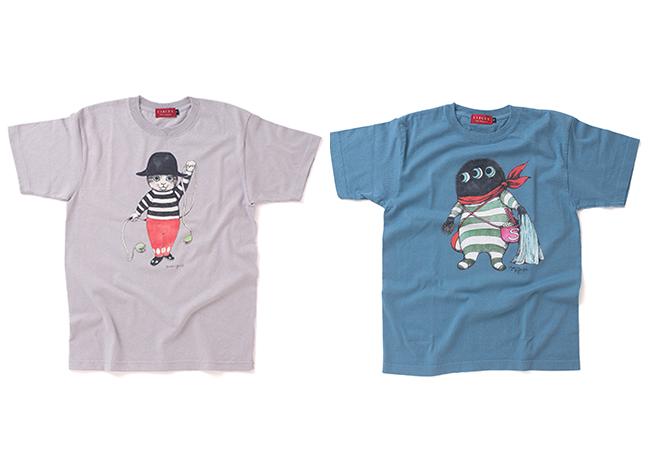 Tシャツ全5種¥3,500〜3,899