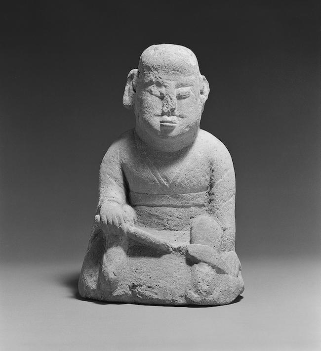 羅漢像 朝鮮半島 朝鮮時代〈日本民藝館蔵〉