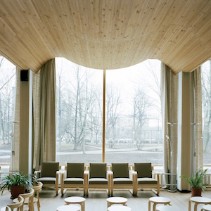 アルミン・リンケ撮影、ヴィープリ(ヴィーボルク)の図書館/Alvar Aalto, 1927-35 ⓒArmin Linke, 2014