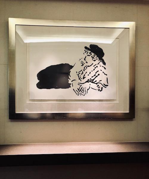 デイヴィッド・ホックニー(David Hockney)『Celia』
