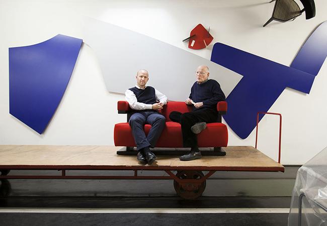 クリスチャン・ドレッシャー(左)とアクセル・ブロッホイザー(右)