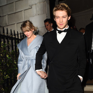 Taylor Swift and Joe Alwyn attend British Vogue And Tiffany & Co. Fashion And Film Party At Annabel's Member's Club after sneaking into The BAFTA's  Pictured: Taylor Swift,Joe Alwyn Ref: SPL5062816 110219 NON-EXCLUSIVE Picture by: Hewitt / SplashNews.com  Splash News and Pictures Los Angeles: 310-821-2666 New York: 212-619-2666 London: 0207 644 7656 Milan: 02 4399 8577 photodesk@splashnews.com  World Rights