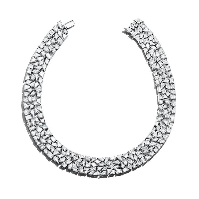 「ティファニー ブルーブック コレクション」ネックレス (プラチナ、ダイヤモンド)