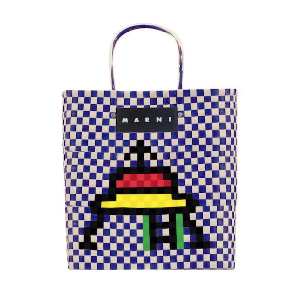 ピクニックバッグラージ(W30×H33×D16cm)¥28,000 3月21日発売 表参道店オープン記念