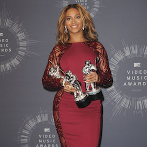 Beyonce Knowles in the press room for MTV Video Music Awards (VMA) 2014 - Press Room, The Forum, Inglewood, CA August 24, 2014. Photo By: Elizabeth Goodenough/Everett Collection