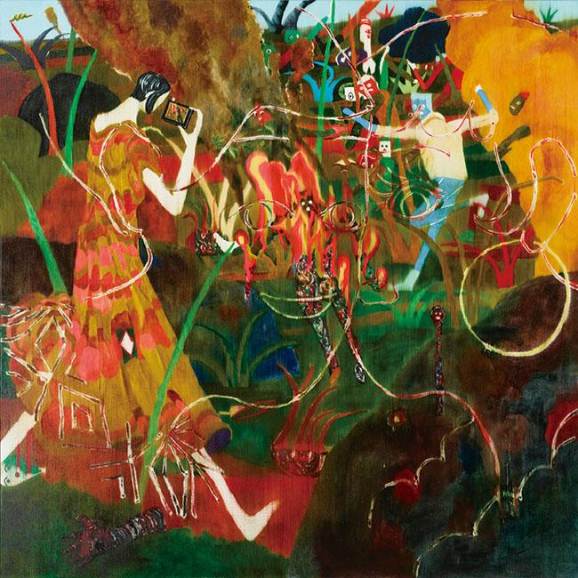コレクション展より。中園孔二『無題』 2012年